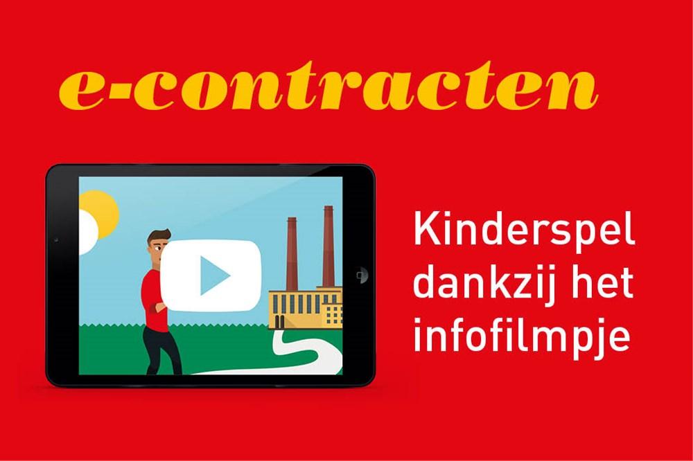 werknemer zegt contract bepaalde tijd op